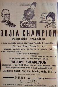 Reclama bujie Champion 1932.jpg