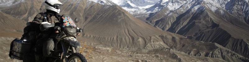 Un om, o motocicletă, 26.000 km şi o destinaţie finală: Mongolia