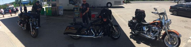 O nouă călătorie, 3 Harley-uri prin Europa