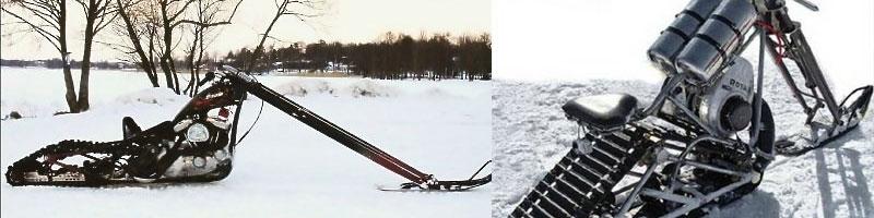 Snowchopper. În caz că eşti chopperist şi iubeşti iarna