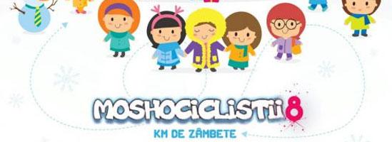 Ajută Moshociclistii să aducă mulţi kilometri de zâmbete copiilor