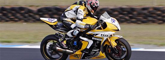 Postura corectă pe o motocicletă sport