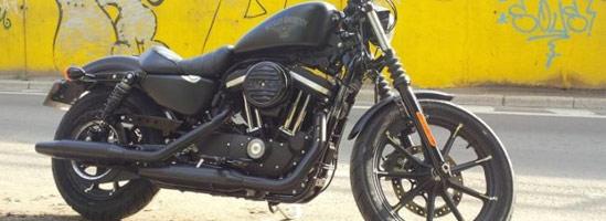 Harley Davidson Iron 883 - motocicleta americană