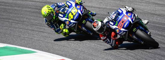 Lorenzo a câştigat cursa de la Mugello, după ce motorul lui Rossi a explodat