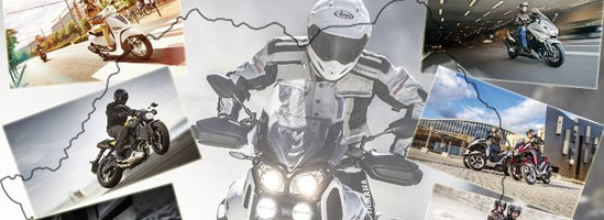 Caravana de test-ride Yamaha a plecat prin ţară