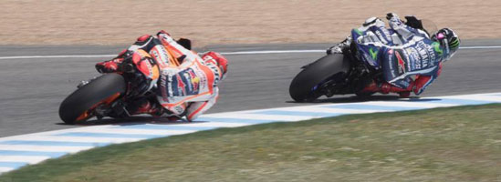 Aripioarele, esenţiale în Moto GP