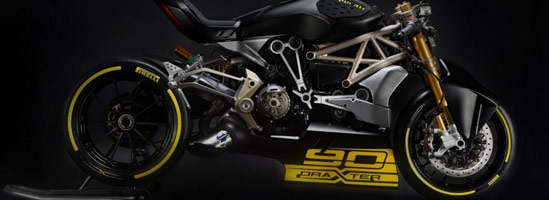 Ducati draXter, o variantă sport a lui XDiavel