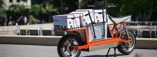EsCargo - motocicleta dubiţă