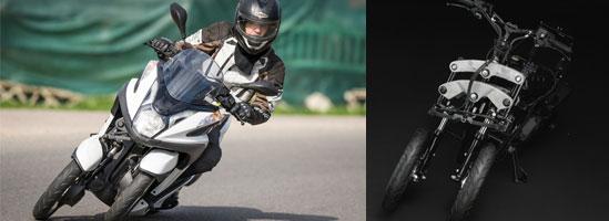 Yamaha Tricity: Rossi s-ar plimba pe el?
